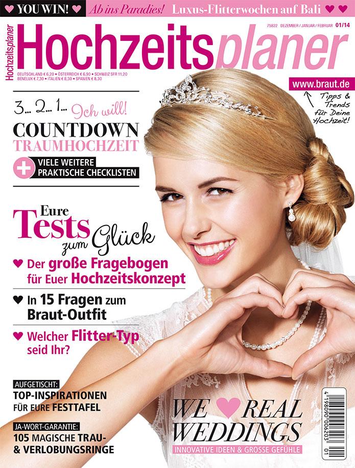 Cover Hochzeitsplaner 1/2014